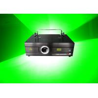 China Green Animation Graphic Beam Disco Laser Lights 1W For Shows / Events on sale