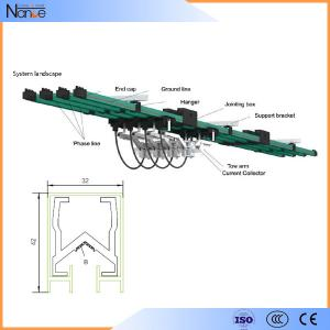 China Aluminum Multiple Conductor Rails , 3 Phrase Power Distribution System on sale