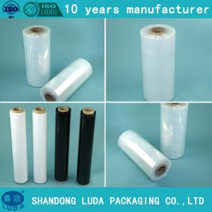 China manual stretch film pallet wrapper lldpe stretch film on sale
