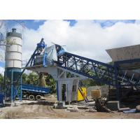 China 25m3/H Belt Type Quick Dry Mix Mobile Concrete Batching Plant Fully Automatic Type on sale