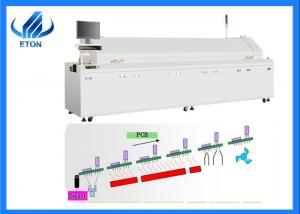 China 480mm Mesh Width SMT Mounting Machine ET-R8 With Guide Line Hot Air Oven on sale