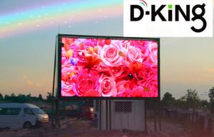 China Event P10 Flexible LED Screen Perimeter Advertising Boards , Flex LED Display on sale
