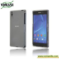 Gel TPU cover for Sony Xperia Z2 SO-03F, back cover case skin accessory