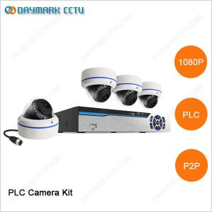 China 1080p HD ir dome power line communication camera security system for home on sale