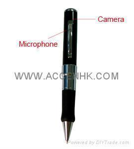 China Pen Camera Spy Hidden Camera Covert Private Detective gadget Audio Video DVR Recorder on sale