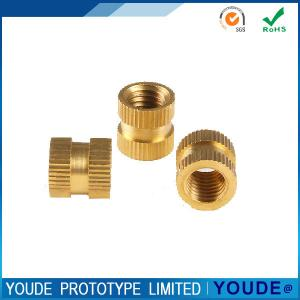 China Rapid Prototyping Production , Rapid Prototyping Tools Brass Nuts With Polishing on sale