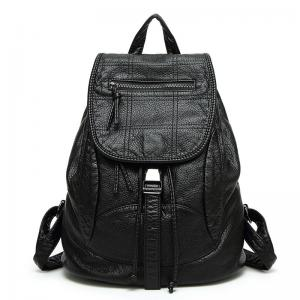 ... Quality Spring   Summer Fashion Ladies Backpack Washed Leather For Young  Girls for sale ... fc4cfcba942a3