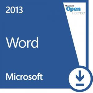 China Volume Microsoft Word 2013 Open License Read Mode Prior Versions Easy Sharing on sale