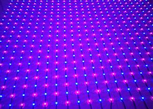 China Full Color LED Net Mesh Fairy Lights Indoor High Brightness PVC LED Mesh Screen on sale
