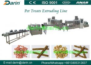 China Economic Dental Care Pet Dog Food Extruder , pet food machinery on sale