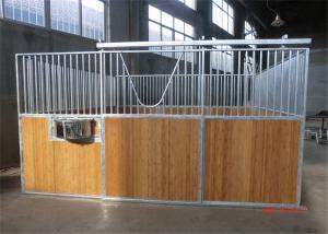 China Portable Horse stable Material:Round pipe:25x2mm,Square pipe:50x25x2mm,Bamboo board:25mm on sale