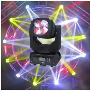 China dj lighting Super Beam DMX led Strobe 4x25 Watt LED Moving Head Stage Light on sale