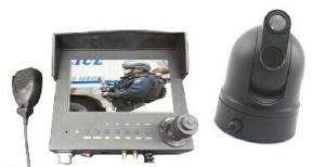 China Police Car Security Camera System With Monitor Control Keyboard Support 3G GPS WIF on sale
