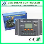Solar Regulator 20A 12/24V Solar Charge Cotroller with LCD (QW-1420USBB)
