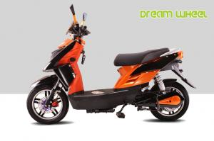 China 20Ah Electric Scooter 60V 500W Motor Disc Brake With LED Headlamp on sale