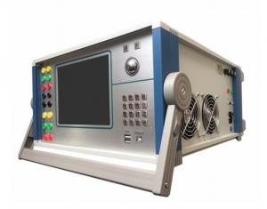 China 120V 60Hz 6 Phase Relay Protection Tester , Custom Protection Relay Test Equipment on sale