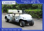 Without roof   4 Wheel 4 Person Electric Club Car Golf Carts With 48V Battery Powered