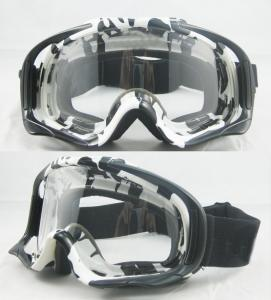 China 100% UV Protection TPU Frame MX Goggles With PC Anti-fog Lens Motorcycle Goggles Glasses on sale