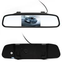 ABS Material Wireless Reversing Camera , Car Reverse Camera With LCD Monitor