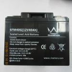 12V 40AH Deep Cycle Lead Acid Battery Maintenance - Free Operation