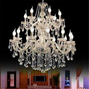 China Crystal chandelier contemporary design Stairs Chandelier (WH-CY-10) on sale