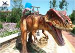 Moving Large Ride On Dinosaur 4 Meters Long For Outdoor / Indoor Amusement Facility