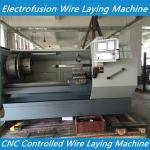 Delta CNC Controlled Electrofusion Wire laying Machine For Electrofusion Fitting Producti