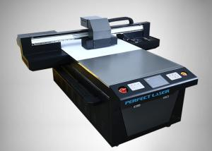 China Glass Wood Plastic Leather PVC Uv Flatbed Printing Machine Epson DX5 Double head on sale