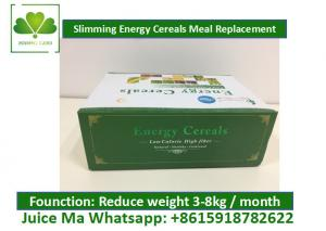 Quality High Nutritional Value Meal Replacement Cereal , Weight Loss Milkshakes Solid for sale
