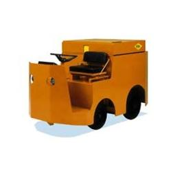 China 1.5 ton 2.1kw electrical towing tractor with lubricating grease device on sale