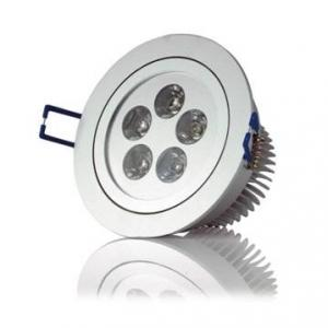 China 3000K / 4000K 110V / 220V 5W Exterior Recessed LED Downlight For Jewelry Store on sale