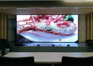 China Front / Back Service Indoor Advertising LED Display Screen Video Wall Panel SMD P3 HD on sale