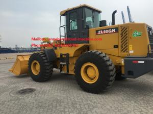 China XCMG Compact Wheel Loader 5T Rated load and 3M3 Bucket Capacity ZL50G/ZL50GN on sale