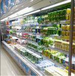 2m Showcase MultiDeck Open Chiller 4 Shelves With Two Sliding Doors