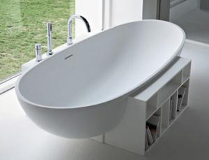 China acrylic solid surface material bathtub on sale