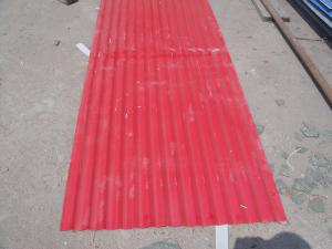 China YX25-210-840 corrugated prepainted roofing sheet on sale