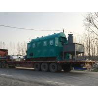 Full Automatic Coal Fired Steam Boiler / Moving Grate Industrial Heating Boilers