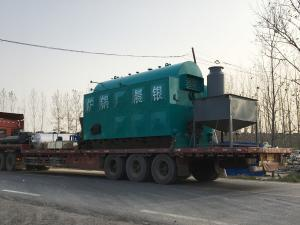 China Full Automatic Coal Fired Steam Boiler / Moving Grate Industrial Heating Boilers on sale