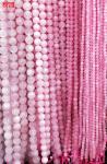 Rose Quart round beads