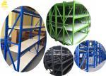 Powder Coated Finish Medium Duty Steel Rack With Lock - In Step Beam