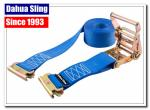 China E - Fittings Motorcycle Ratchet Tie Down Straps With Carbon Steel Buckle wholesale