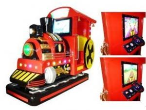 China Red Electric Train Kiddie Ride With Video ,Music For Super Markets YA-QF219 on sale
