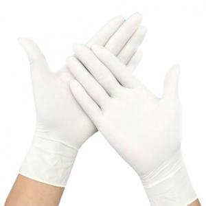 China Good Feeling Disposable Latex Gloves S-XL Easy Carrying CE FDA Approved on sale