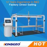 China PLC Touched Screen Control Durability Furniture Testing Machine For Office Furniture  With One Year Warranty wholesale