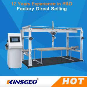 China PLC Touched Screen Control Durability Furniture Testing Machine For Office Furniture  With One Year Warranty on sale
