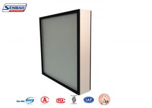 China Electricity Turbines Industry Fiberglass Media Pleated Panel Air Filters with Aluminium Frame on sale