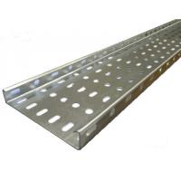 China Aluminium / FRP Building Cable Tray With Powder Coated Customized Colors on sale