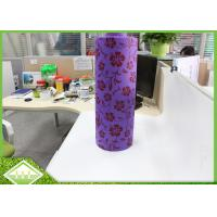 100% Virgin PP Printed Non Woven Fabric Cloth Roll For Table Cloths / Bags