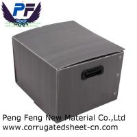 2-12 mm white/black/green/yellow cheap price polypropylene corflute turnover box for packing industry