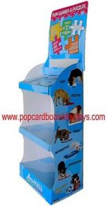 China OEM Colorful Printing Paper Cardboard Counter Display For Store on sale